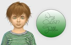 The Sims 4 Mody: Wings Os0327 wersja dla malucha od Fabienne