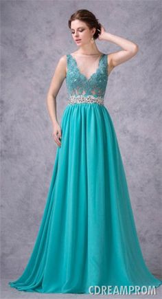 Teal Evening Dresses