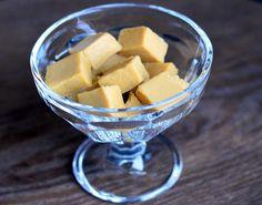 Sukkerfrie og nydelige vaniljefudge (Bakekona)