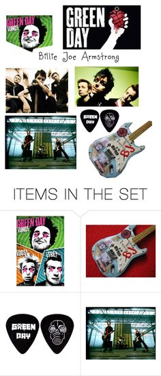 """""""Billie Joe Armstrong"""" by rachelf23 ❤ liked on Polyvore featuring art"""