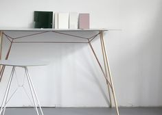 """Zanotta launches """"shelves on legs"""" by Frank Rettenbacher"""