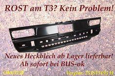 Heckblech für den VW-Bus T3 . Pressefoto: Krudewig