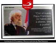 Compartimos una Ilustración preparada por el periódico El Colombiano. Buena reflexión en tan pocas palabras. Mirémoslo todo, quedémonos con lo mejor...