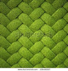 rattan from grass. background texture. by Dim Dimich, via Shutterstock
