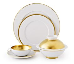 Sieger By Fürstenberg Treasure Gold Contemporary China
