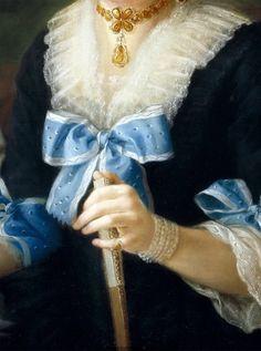 Tomasa de Aliaga Veuve Salcedo (Détail) Antonio Carnicero Mancio - 1795