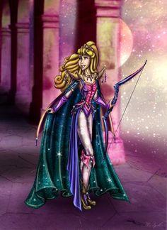 Aurora [as Final Fantasy] (As Video Games by Ai-Don @deviantART) #SleepingBeauty #FinalFantasy
