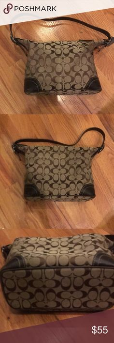 Brown coach purse Great quality! Gently used, message for any questions Coach Bags Shoulder Bags