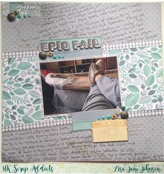 UK Scrap Addicts: Epic Fail | Lisa-Jane Johnson | Journalling