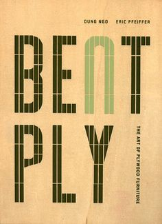 Bent Ply: The Art of Plywood Furniture by Dung Ngo Plywood Furniture, Furniture Design, Clean Book, Architecture Magazines, Bent Wood, Charles & Ray Eames, Evernote, Good Notes, Mid Century Modern Design