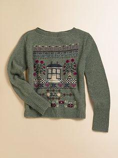 Ralph Lauren Girl's Intarsia Sweater