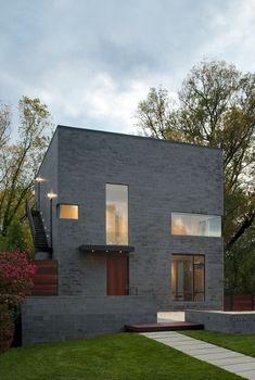 Hampden Lane House,© Maxwell MacKenzie Architectural Photographer