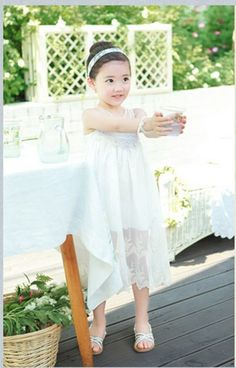 正版韓國精品童裝-Amber Pure ★法式蕾絲刺繡長洋裝★ (www.facebook.com/bblove.tw)