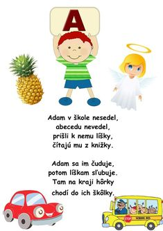 Alphabet, Kindergarten, Teacher, Montessori, Education, Kultura, Logos, School, Fictional Characters