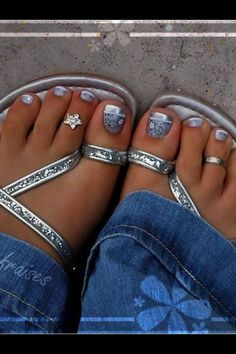 Pretty pedicure