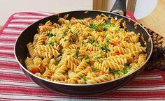 Fusilli tonno rucola e pomodorini Fusilli, Ethnic Recipes, Food, Eten, Meals