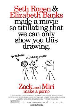 Zack and Miri make a Porno (2008). #Movie #Poster