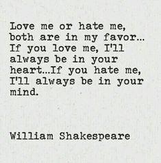 Explore famous, rare and inspirational Shakespeare quotes. Here are the 10 greatest Shakespeare quotations on love, life, and conflict. Poem Quotes, Quotable Quotes, Words Quotes, Great Quotes, Quotes To Live By, Life Quotes, Inspirational Quotes, Being In Love Quotes, Love Hate Quotes