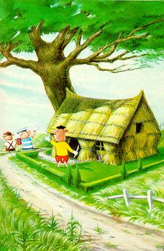 English PowerPoints: The three little pigs part Baby Animals, Cute Animals, Ladybird Books, Classic Artwork, Mini Pigs, Three Little Pigs, Cute Pigs, Bedtime Stories, Infant Activities