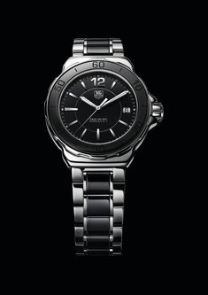 TAG Heuer Formula 1 Lady Steel & Ceramic- TAG Heuer women's range of watches as jewellery