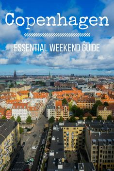 Planning a weekend trip to Copenhagen, Denmark? There is so much to see and do, it can be hard to fit it all in! This guide will help you figure out what to do and where to go if you've got limited time in the city. | travel Copenhagen | traveling in Copenhagen | travelling in Denmark | 24 hours in copenhagen | 48 hours in copenhagen | 72 hours in copenhagen | Europe |