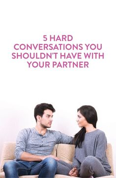 conversations to have with your partner