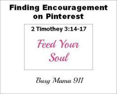 Finding Encouragement on Pinterest