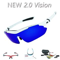 14b42a4801 sale reedocks new 2 0 vision 5 lens cycling glasses polarized myopia frame  sport hiking eyewear
