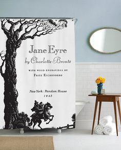 Jane Eyre tenda della doccia stampato in USA di sharpshirter