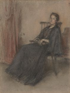 James McNeill Whistler, Portrait of Miss Emily Tuckerman, 1898 (via). |Pinned from PinTo for iPad|