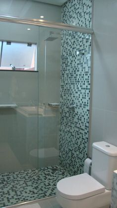 Small Bathroom Interior, Small Bathroom With Shower, Small Apartment Interior, Bathroom Design Luxury, Modern Bathroom Design, Toilet Design, Home Decor Kitchen, Bathroom Renovations, House Design