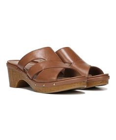Another great find on #zulily! Tan Galant Leather Sandal #zulilyfinds