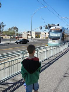 Light Rail Outing with the kids in Phoenix, AZ. So fun and inexpensive. Great outing.