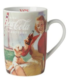 Another great find on #zulily! Coca-Cola Sailing Coke Girl Mug #zulilyfinds