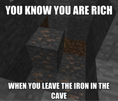 How You Know if You Are Rich in Minecraft