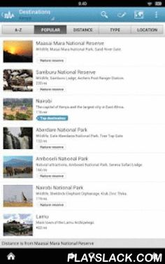 Kenya Travel Guide By Triposo  Android App - playslack.com , Features of Triposo's guide to Kenya Travel:★ Suggestions of what's interesting to see and do in Kenya Travel, depending on time, weather and your location;★ A detailed sights section with all the monuments of Nairobi, Mombasa;★ Eating out section with the best restaurants in Nairobi, Mombasa;★ Discover the nightlife of Kenya Travel! Bars, pubs & disco's in Nairobi, Mombasa;★ Book hotels in Kenya Travel directly from the app…