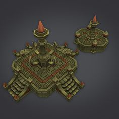 Cloudy Dungeon Set - Architecture - 12