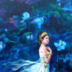 Jia Lu , Lotus Bodishattva