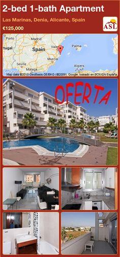 Apartment for Sale in Las Marinas, Denia, Alicante, Spain with 2 bedrooms, 1 bathroom - A Spanish Life Apartments For Sale, Alicante Spain, Murcia, Seville, Malaga, Playroom, Terrace, Lounge, Sevilla