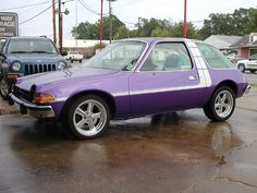 AMC Cars | AMC Pacer X information: Couldn't miss this in the parking light..