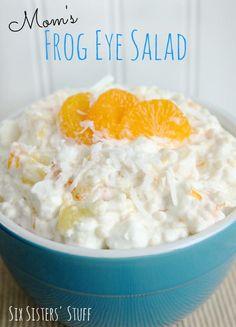 Mom's Frog Eye Salad | RecipeLion.com
