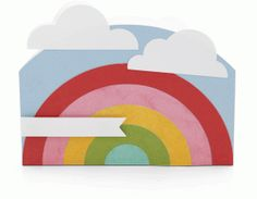 Silhouette Design Store - View Design #55813: a2 rainbow card