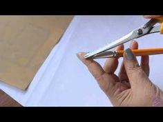 Pintura em tecido Eliane Nascimento: Pincéis - YouTube