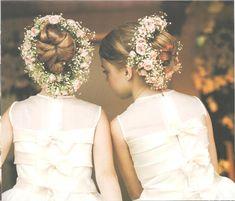 Mother of the Bride - Blog de Casamento e Dicas de Casamento para Noivas - Por Cristina Nudelman: Daminhas de honra Penteados e vestidos