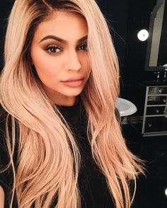 Kylie Jenner Has Blonde Hair - Kylie Jenner Hair Color Trends