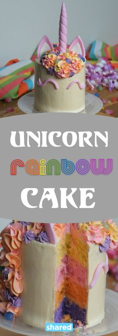 Unicorns are a huge trend this year and why not?! Unicorns are super whimsical, unique and add a touch of magic to everything! This Unicorn Rainbow Cake is the ultimate fantastical confection - Cucina Dolce's Jayne Argentina showed us how it's done with this beautiful and scrumptious layer cake. Jayne layers up purple, orange, pink and yellow cake bases with yummy frosting, then beautifies the dessert with fondant ears, a colorful mane, and you can't forget that cool unicorn horn! Would you…