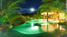 Costa Rica's hot springs resorts.