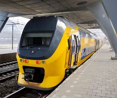 Bombardier EMU from DD-IRM series in Amsterdam Centraal Railway Station