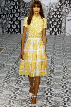 Jasper Conran Yellow outfit