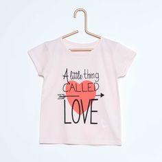 Tee-shirt imprimé fantaisie Petite fille - Kiabi - 2,00€